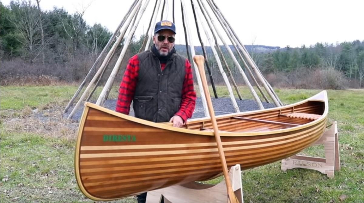 DiResta Builds a Canoe