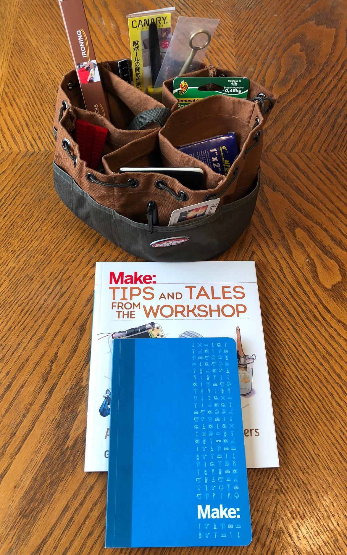 Putting Together a Maker's Gift Basket