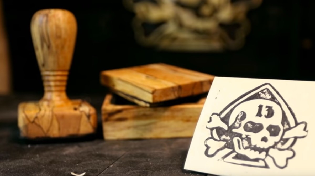 Making a Handmade Rubber Stamp and Ink Box