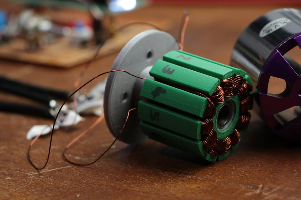 Can You 3D Print a DC Motor?