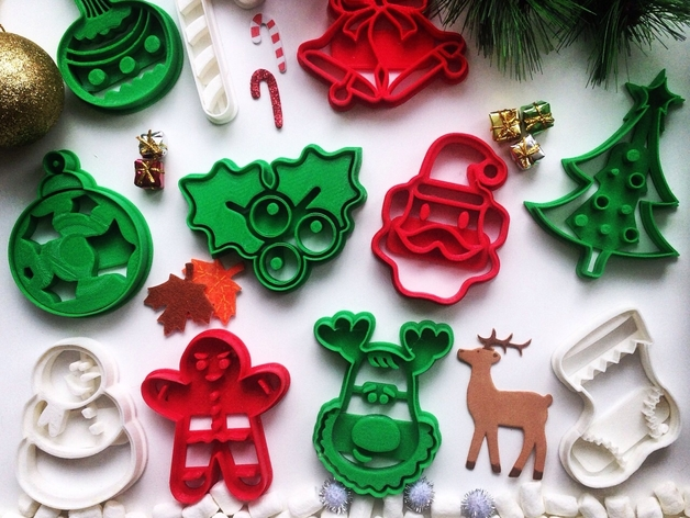Holiday 3D-Printables on Thingiverse