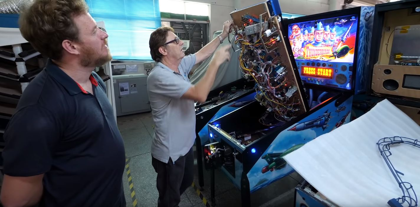 Take A Tour of China's Only Pinball Machine Factory