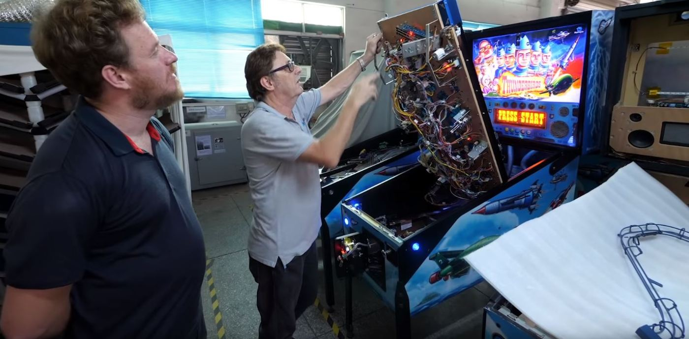 Take A Tour Of Chinas Only Pinball Machine Factory Iot Expert Theremininfo Elektuur Elektor Optical Theremin 1973 From The