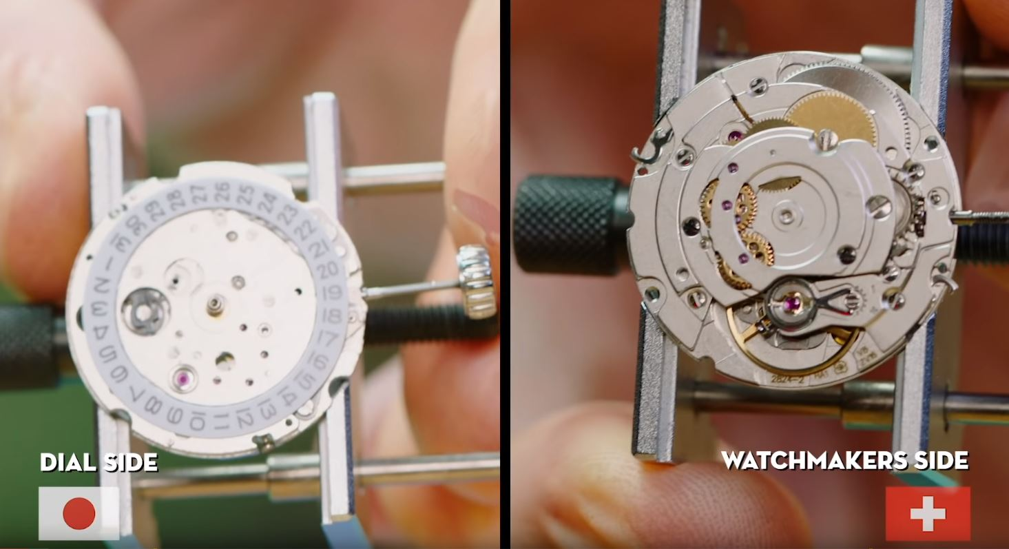 Follow Along As a Watchmaker Compares Japanese and Swiss Construction | Make: