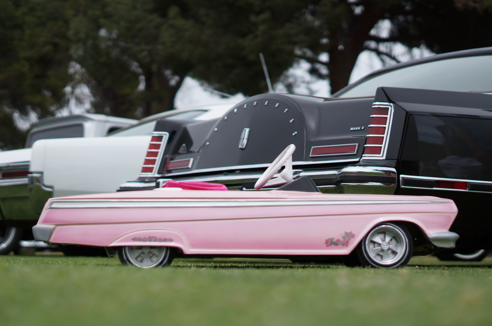 Dad Builds Incredible Low Rider Pedal Car For Daughter