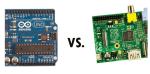 Arduino v Raspberry Pi: Battle of the eTitans