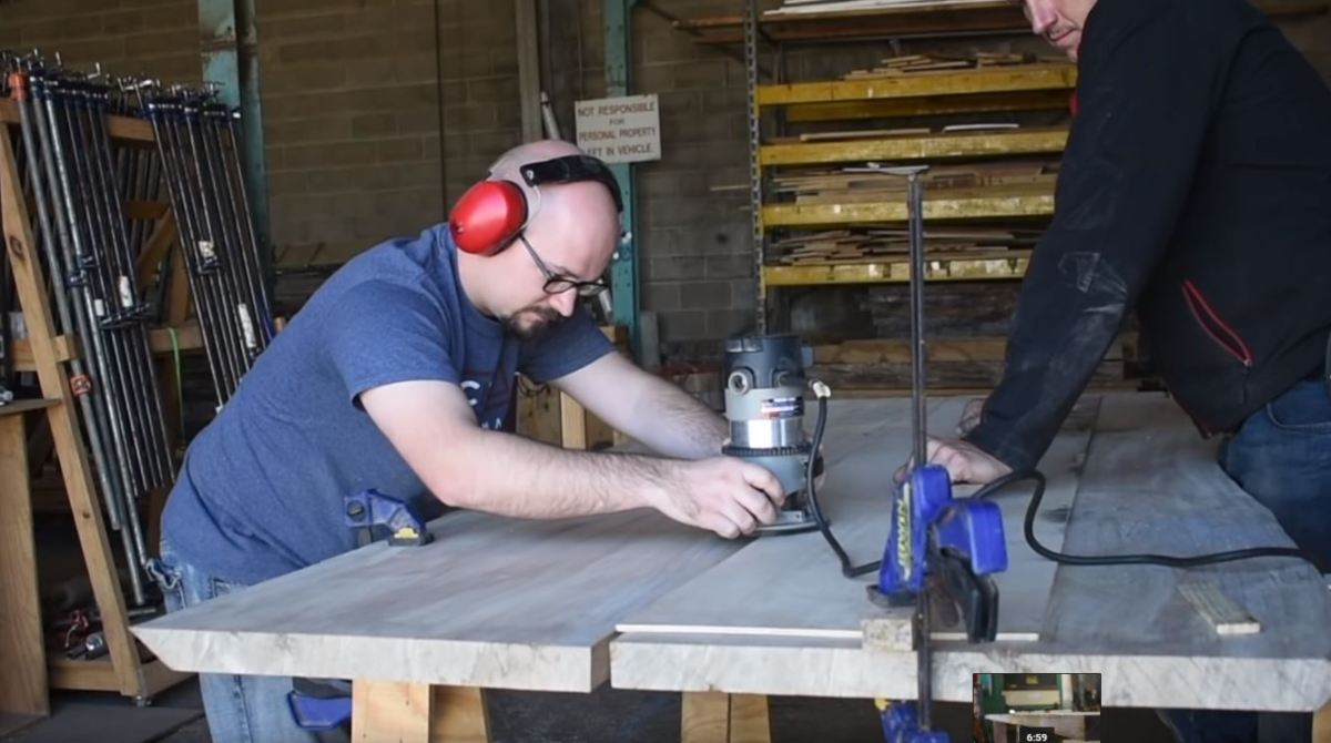 Woodworking Tip: Joining Boards On A Curve