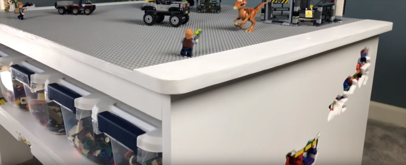 Building The Ultimate Lego Table