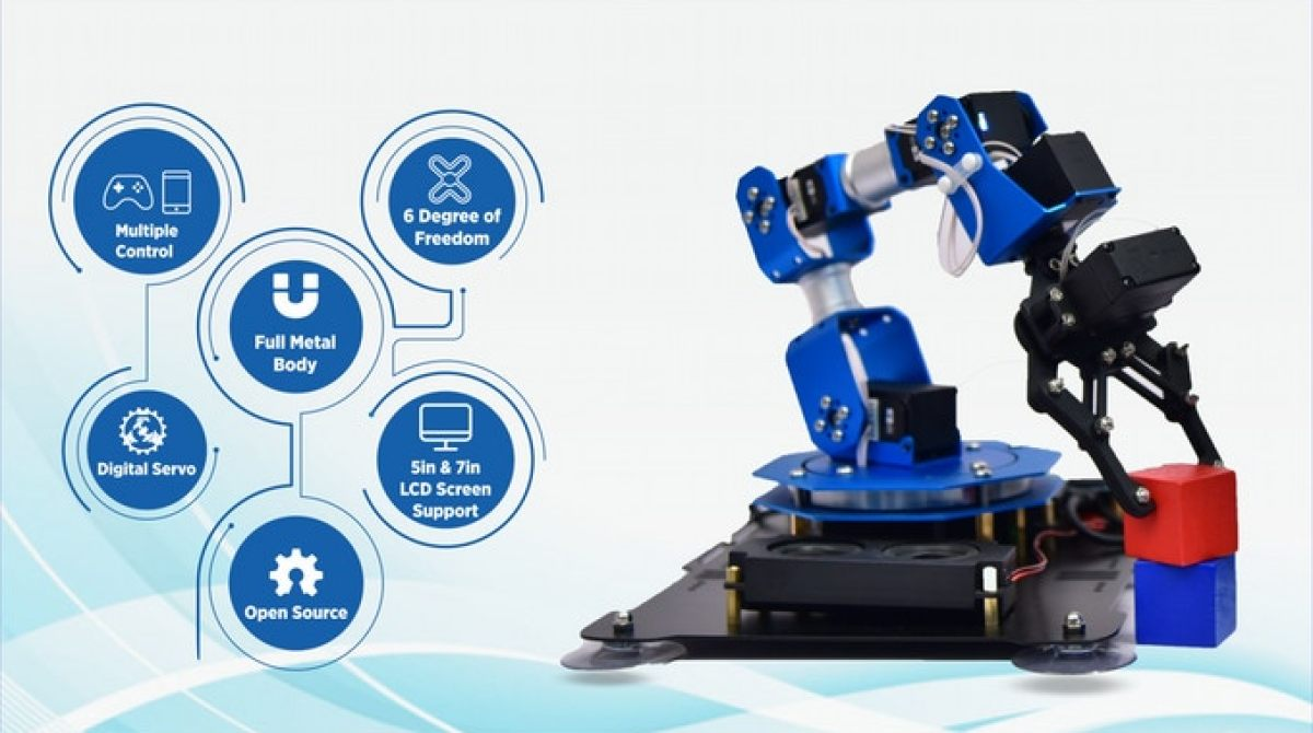 Cool Crowdfunding: Raspberry Pi Robotic Arm, Benchtop CNC, Remote