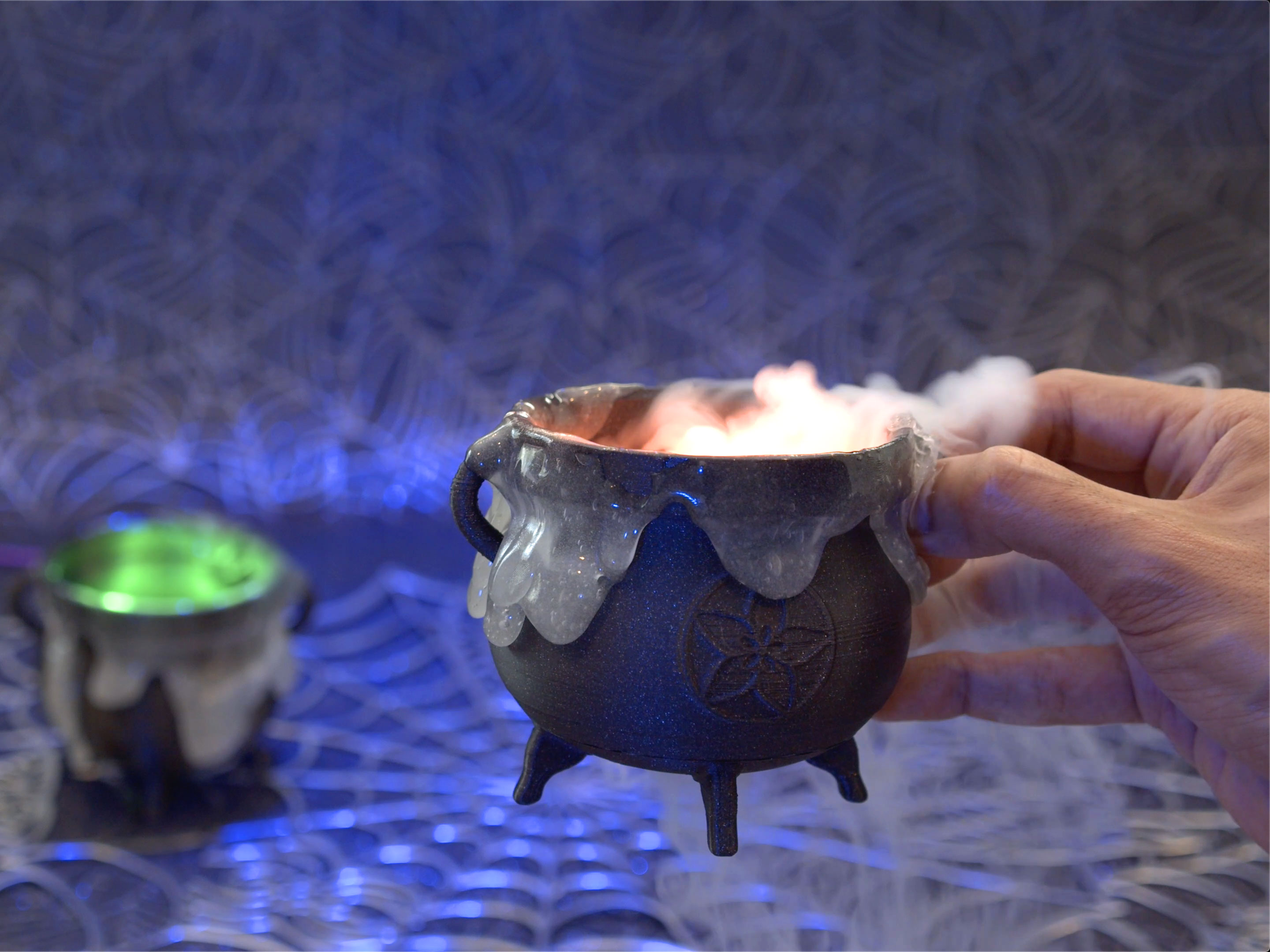 Check Out The Most Adorable Tiny Boiling Halloween Cauldron