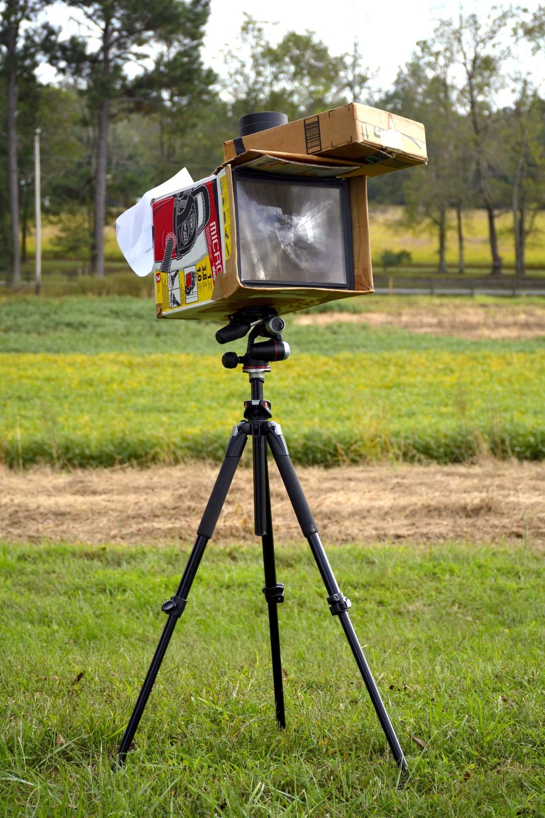 Cardboard Cyanotype Camera