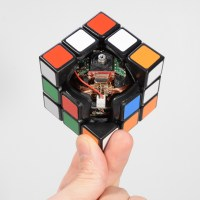 Watch As This Rubik's Cube Floats In Mid-Air While Solving Itself