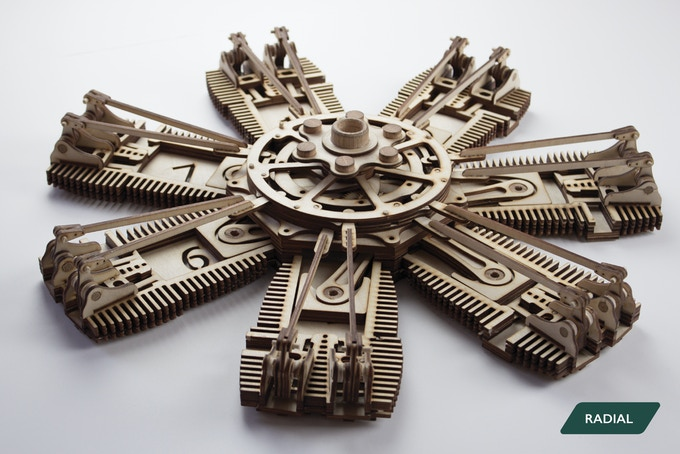 Cool Crowdfunding: Model Engines, Modular Robots, Wearable Circuits, and Music
