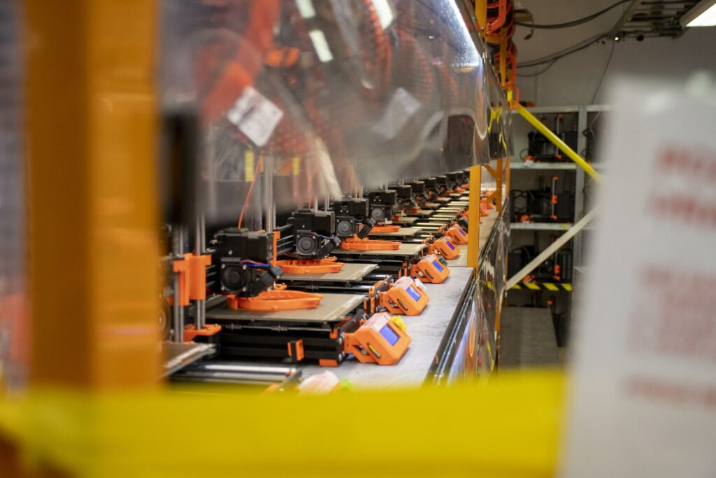 How Prusa Is Using The Worlds Largest 3D Printing Farm To Help Hospitals