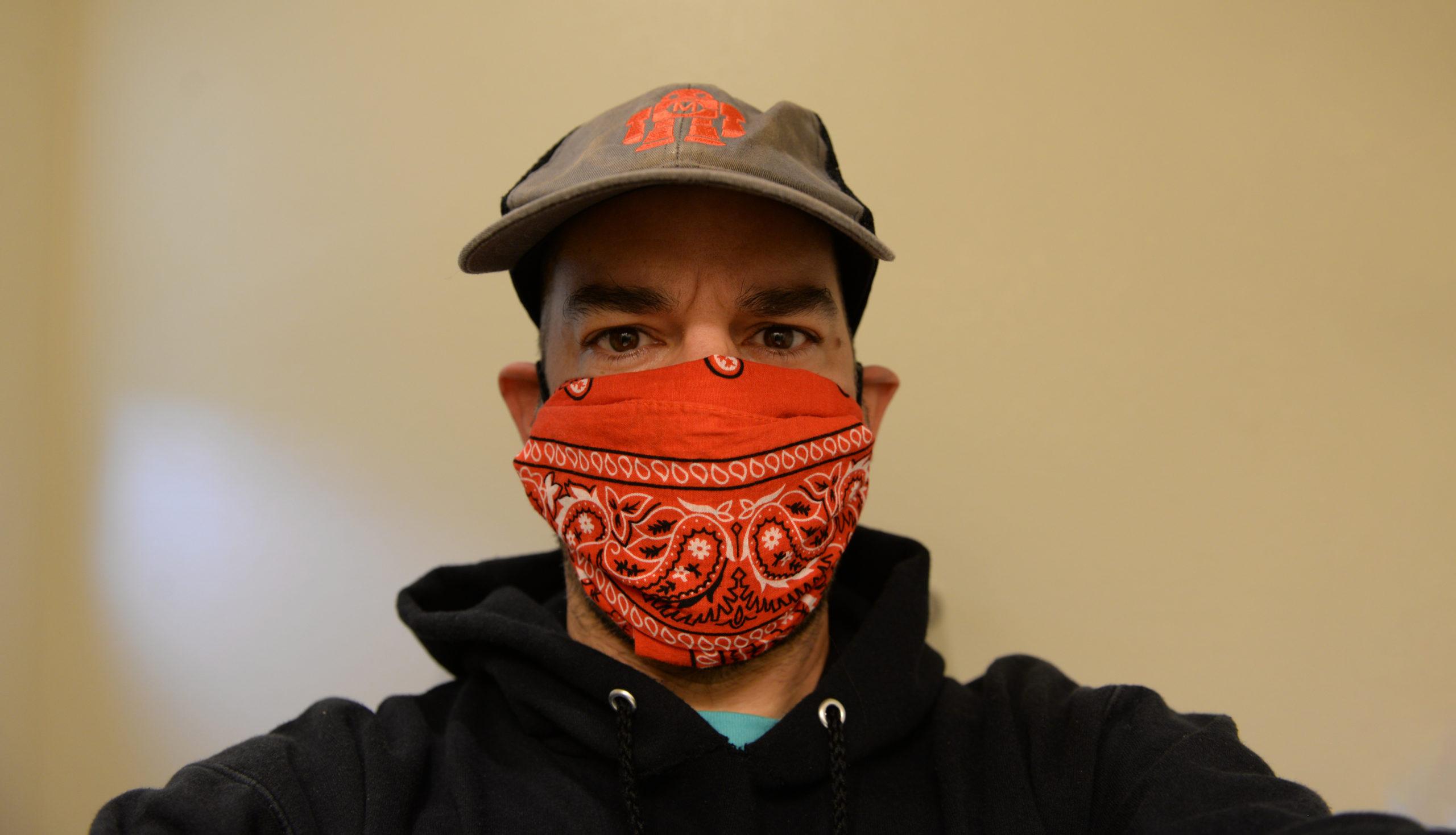 How to Fold a No-Sew Bandana Face Mask