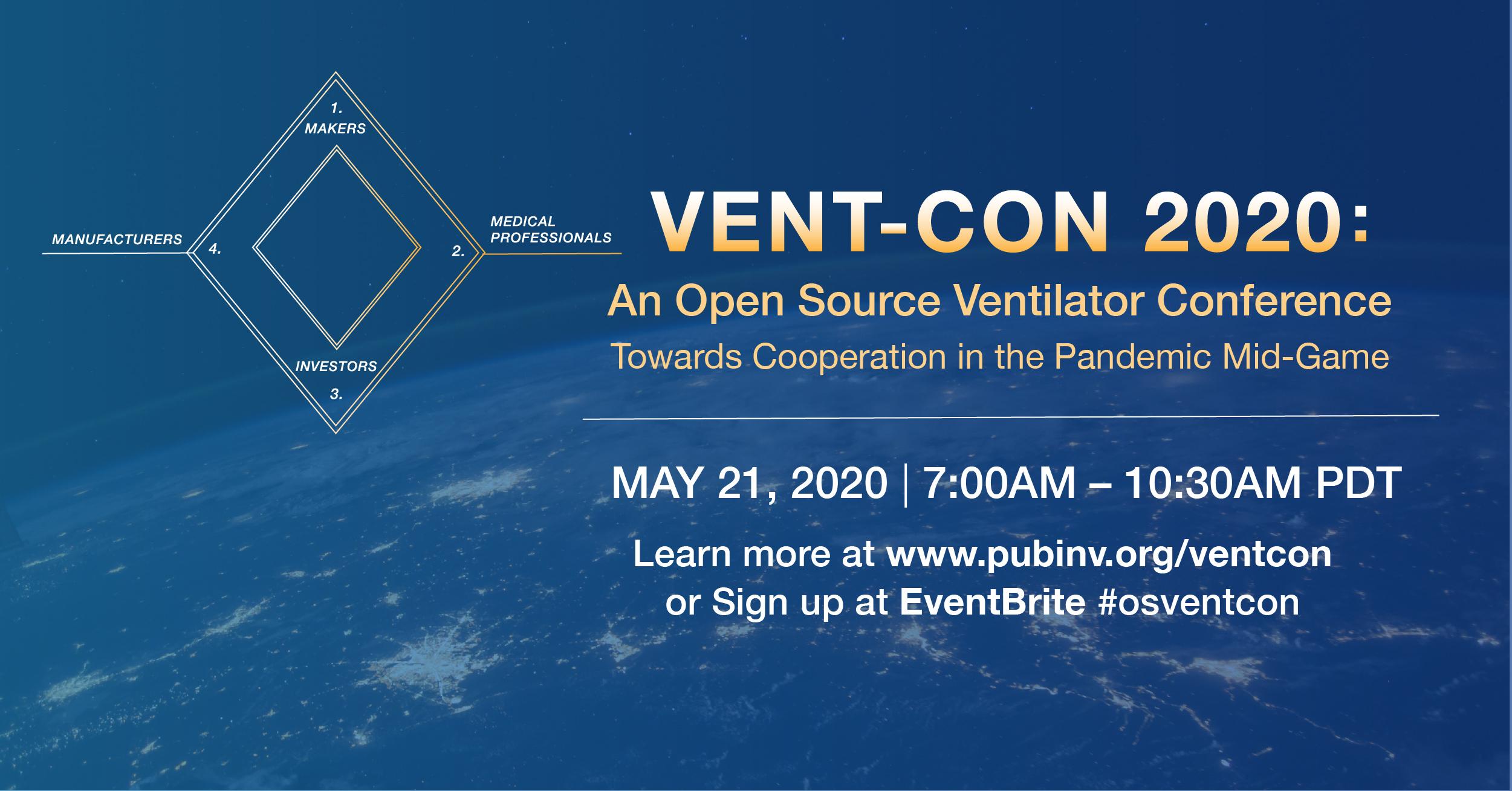 Vent-Con 2020 To Discuss the State of Open Source Ventilators