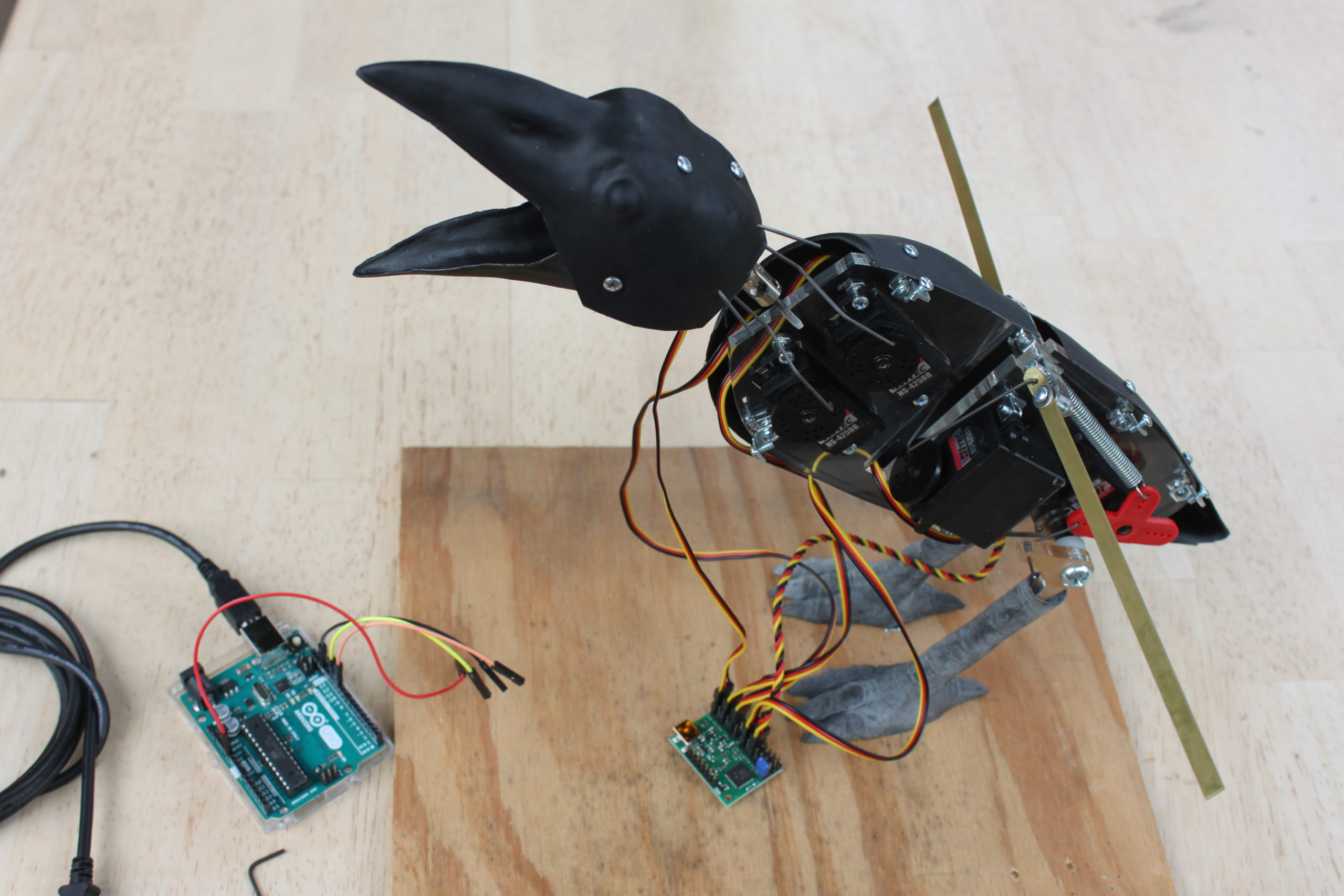 Build an Animatronic Raven Kit