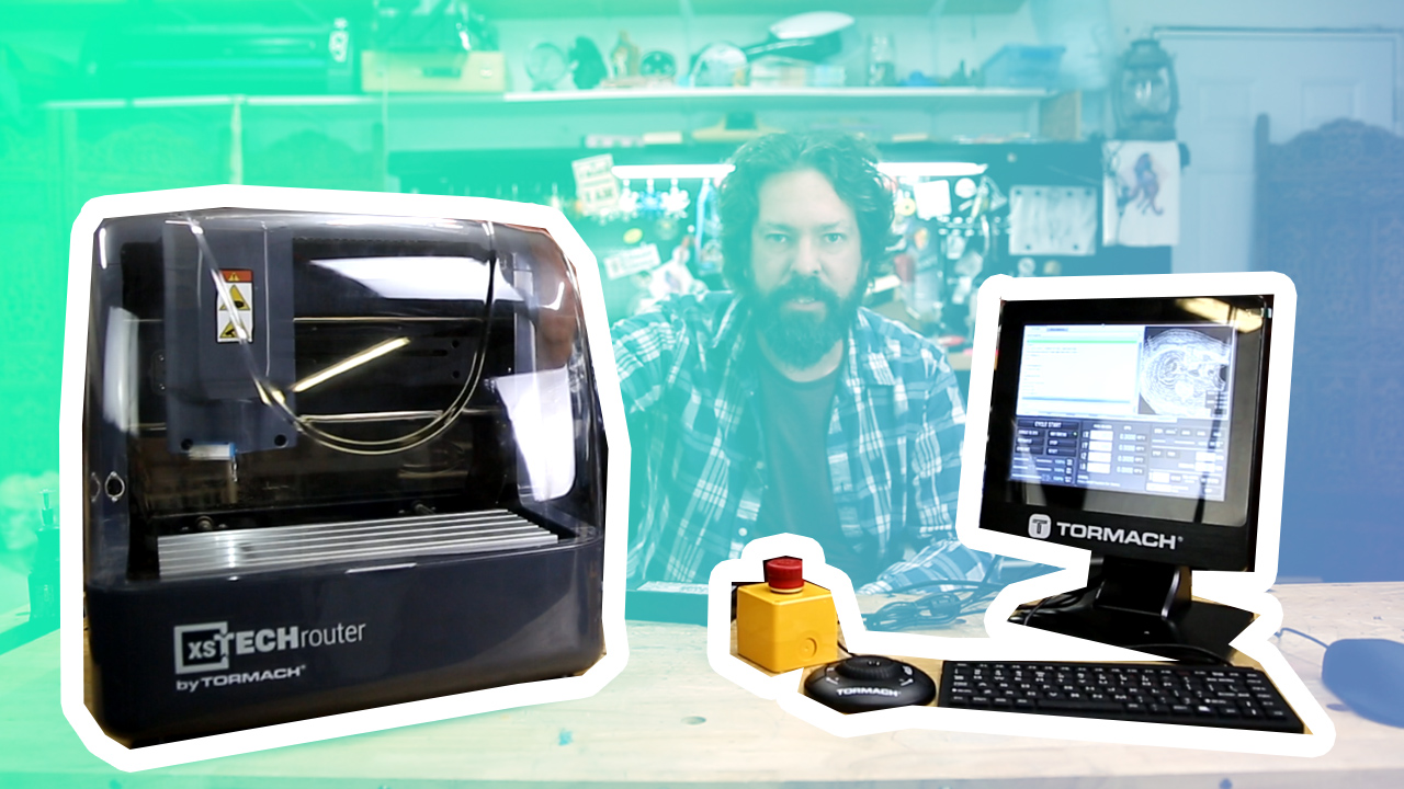 Quick Look: The Tormach XS Tech CNC Router