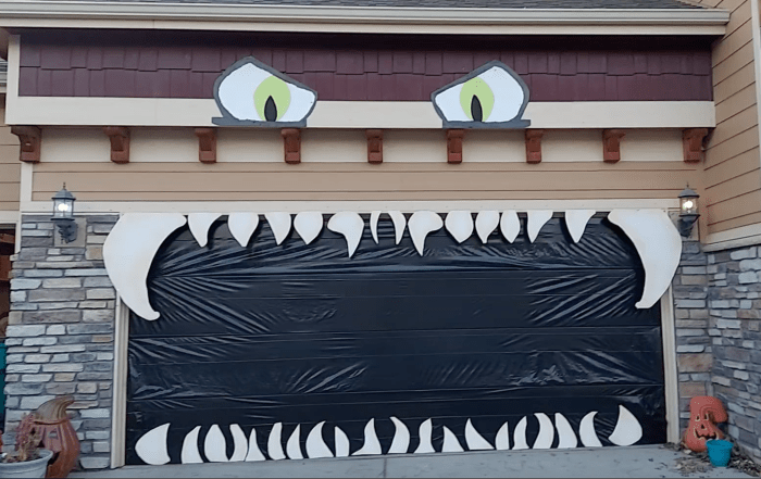 How To Give That Garage A Ghoulish Grin For Halloween