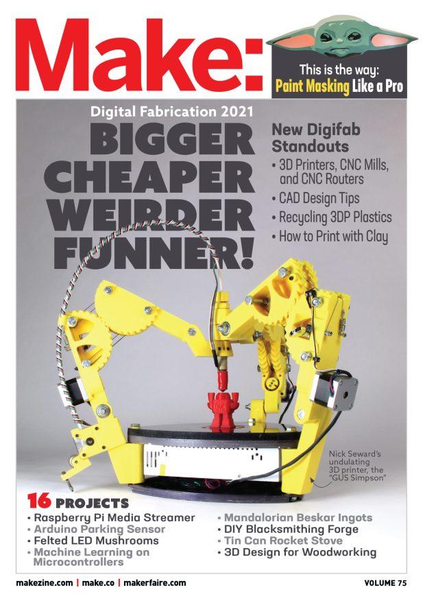 image of make magazine cover