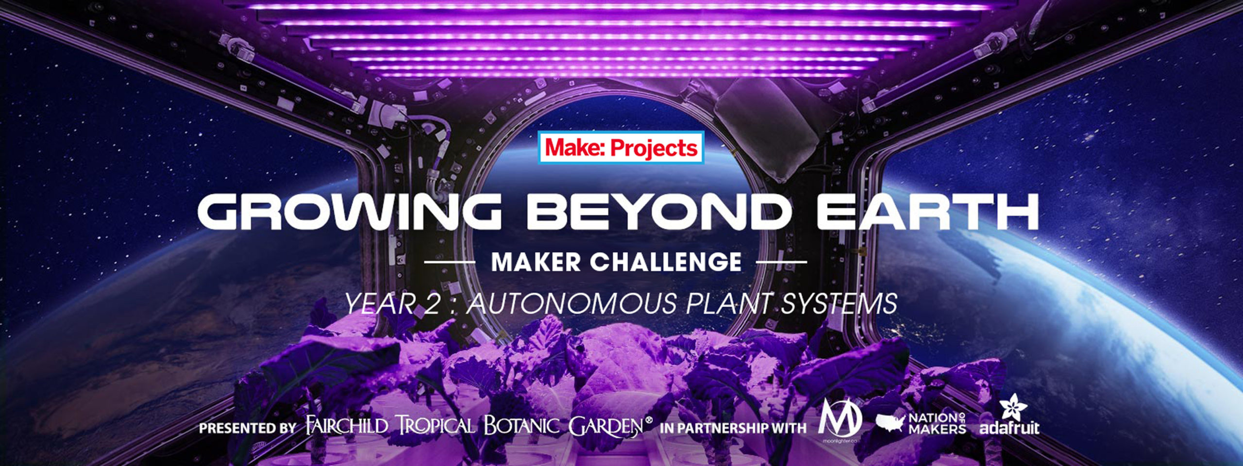 Tis The Season For Maker Contests: Space Plants and Holiday Decorations