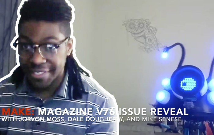 Watch Odd Jayy Discover He's on the Cover of the New Issue of Make: Magazine