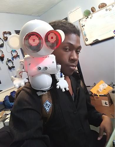 A Monkey Companion Bot Named Dexter