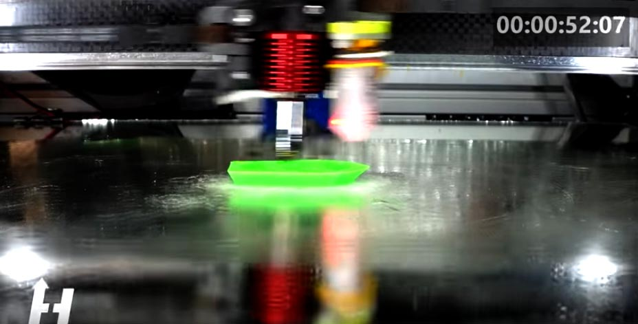 This Video Is Not Sped Up: Ridiculously Fast 3D Printing