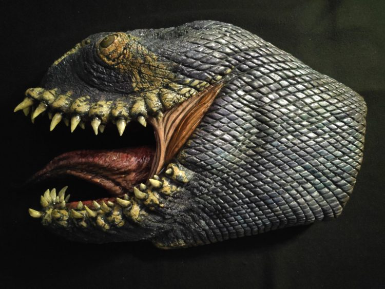 The Making Of 'Lord of the Rings' inspired 'Fellbeast' Head