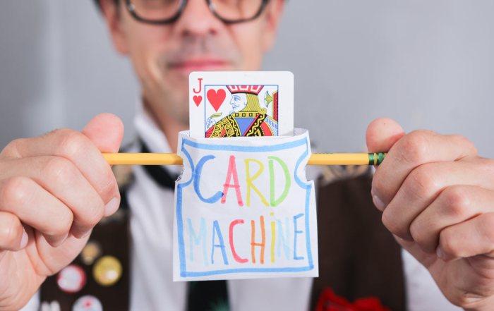 Maker Magic: The Card Machine Trick