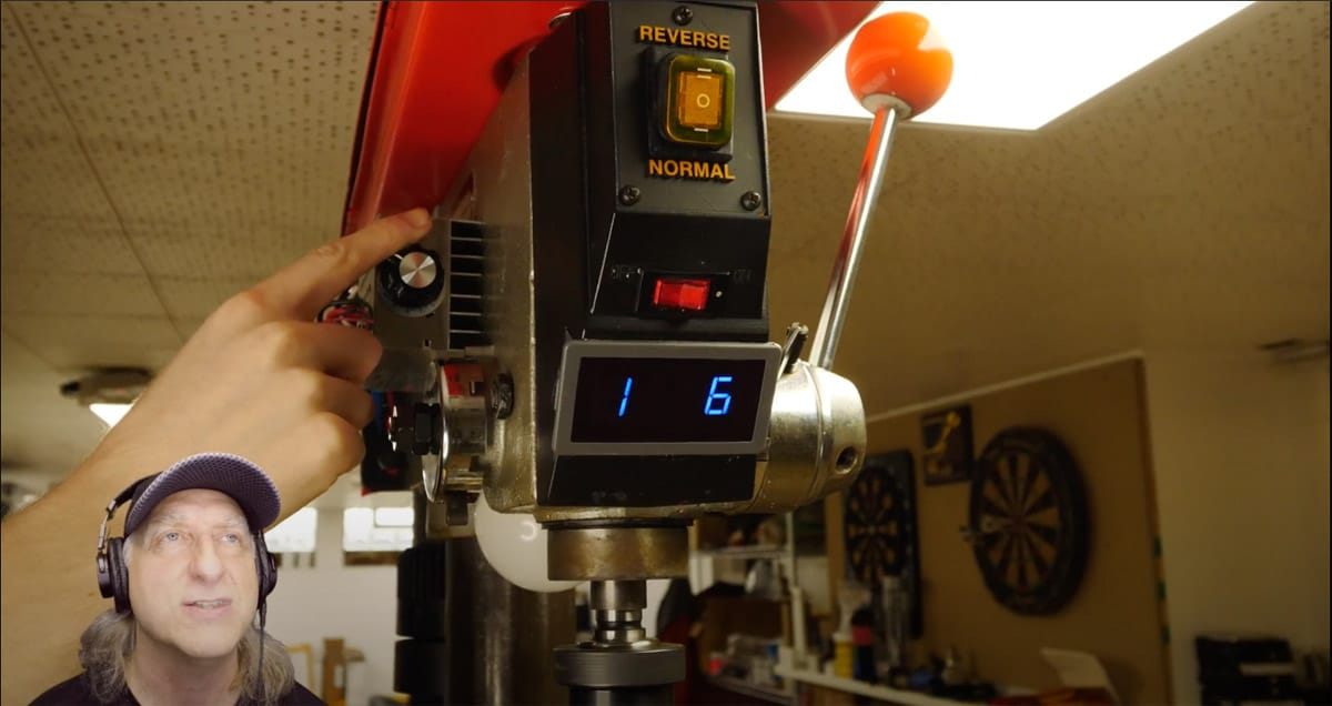 Use A Treadmill Motor To Seriously Upgrade Your Drill Press