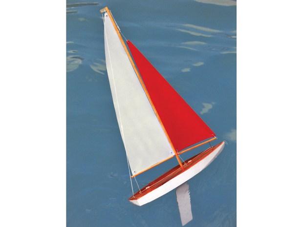 Wooden Mini Yacht