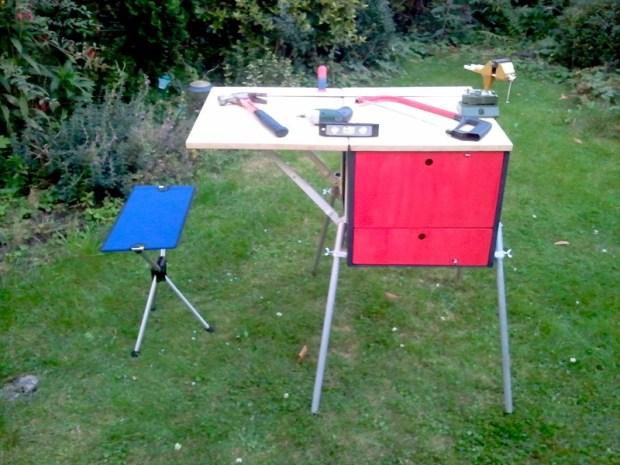 Bike-Portable Workbench