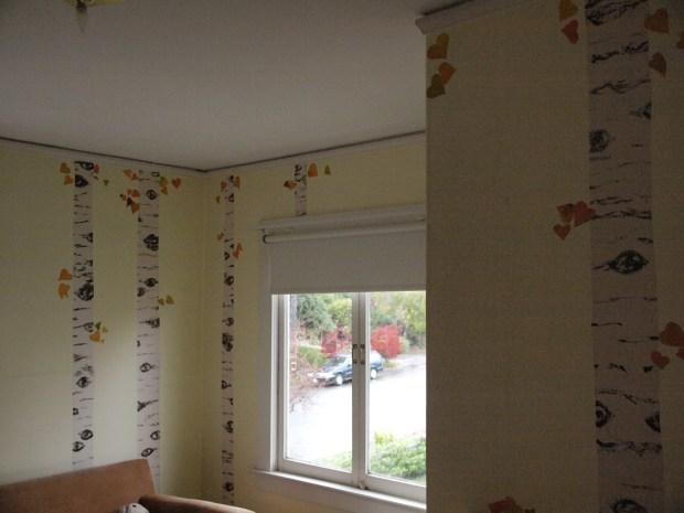 Birch/Aspen Forest Wall Mural for Kids Room