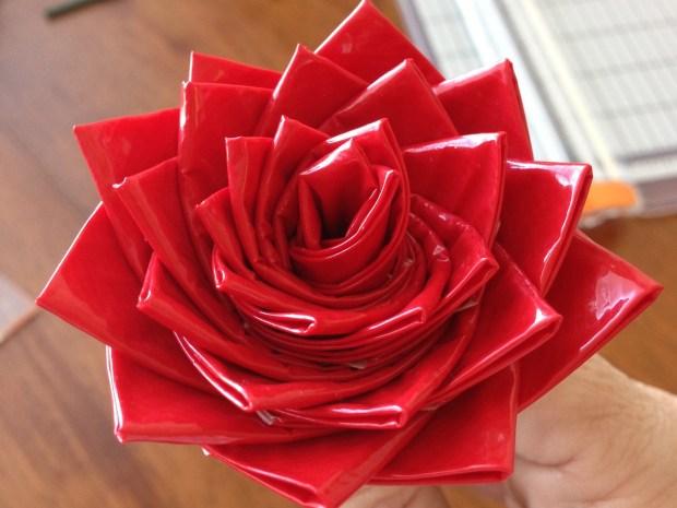 Duck Tape Rose