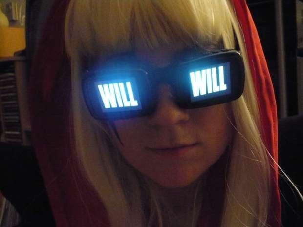 "Lady GaGa ""Video"" Glasses"