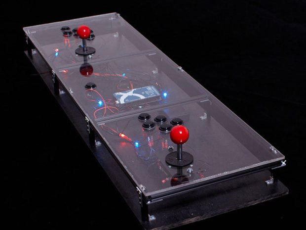 Coffee Table MAME Console