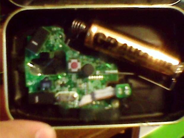 Wireless Altoids Tin Mouse (aka Minty Mouse)