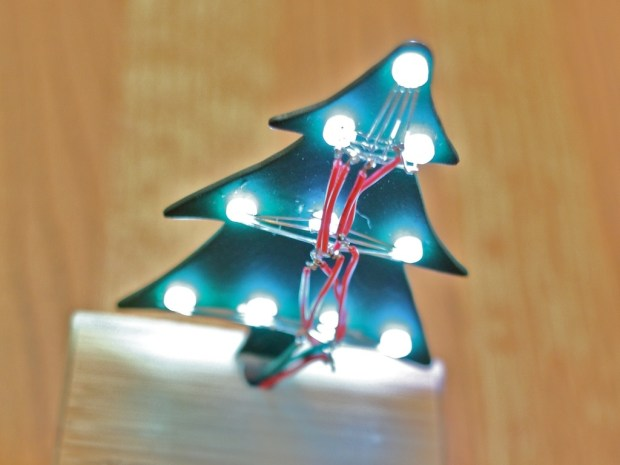 Cheerlights Desktop Christmas Tree