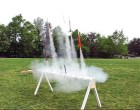 10-Rail Model Rocket Mega-Launcher