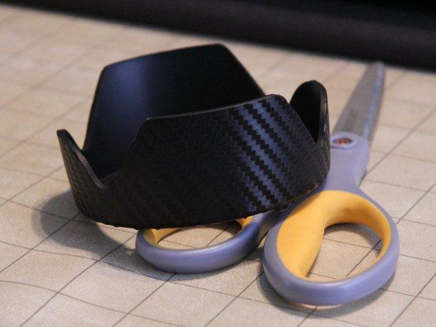 DIY Carbon Fiber Lens Hood