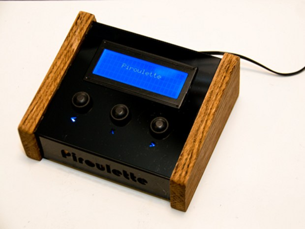 Piroulette: A Machine That Predicts Your Last Words