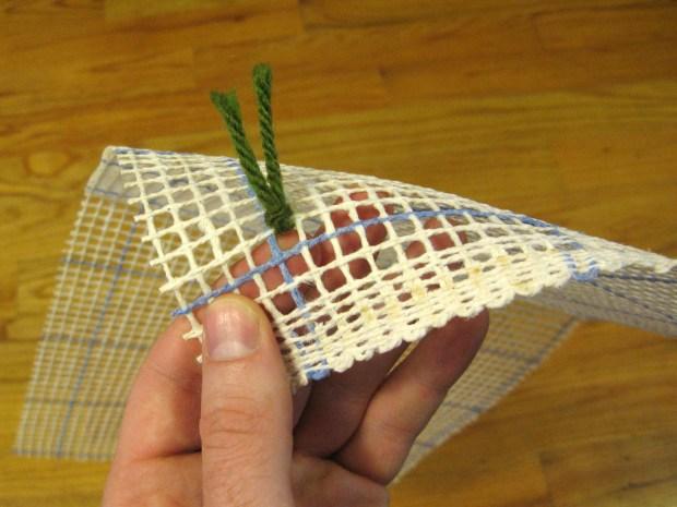 Photorealistic Latch-Hooked Rug
