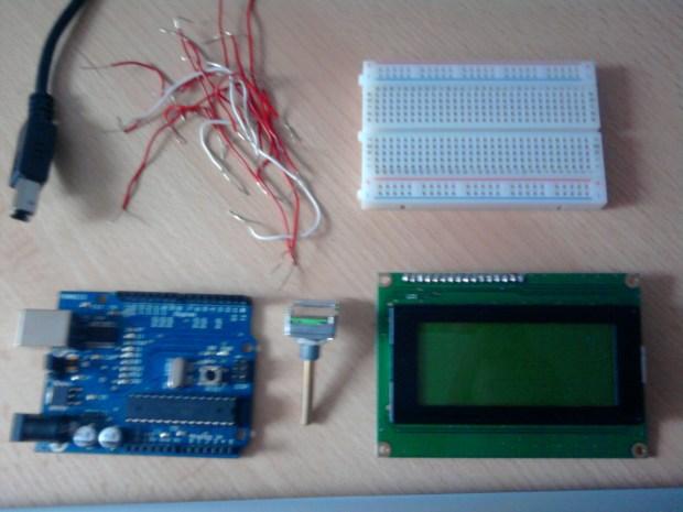 Arduino LCD Birthday Card