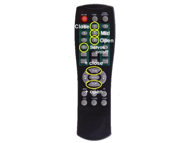 Teleclaw: Remote Robot Gripper