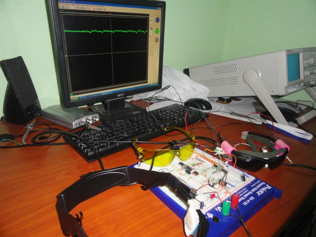 Eyeboard Electrooculography (EOG) System