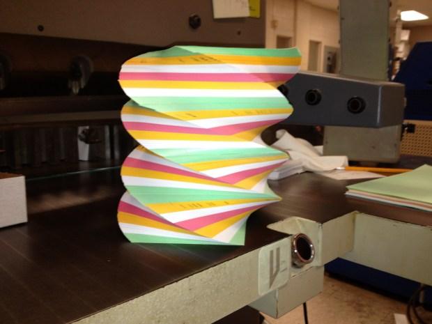 Multicolor Spiral Paper Pad