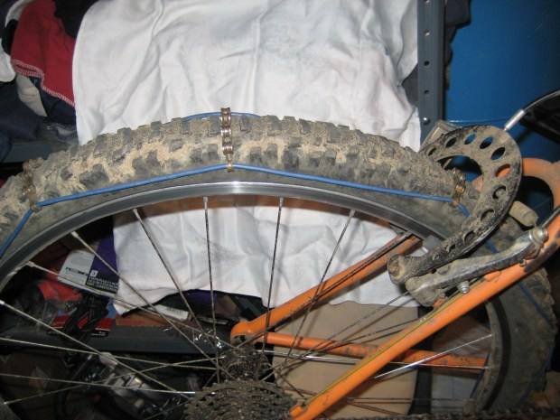 Studded Bicycle Tires and Chains