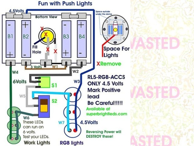 Fun with Push Lights
