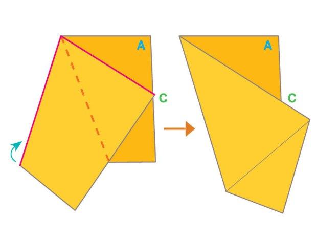 Golden Star Origami
